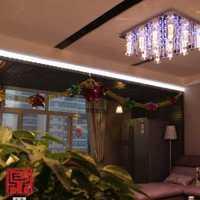 上海唐镇130平米复式饭店装潢