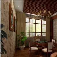 复古装修风格绿色墙面搭配什么颜色地板家具好看 简约