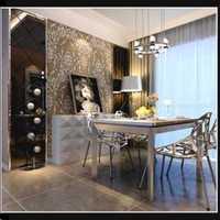 弧形墙能用生态木装饰材料