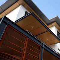 90米高的外墙装饰,要求用自带保温的铝塑复合板,...