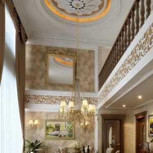 客厅欧式豪华吊顶装修效果图