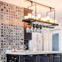 中式敞开式厨房装修效果图