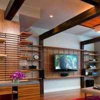 客厅博古造型装修效果图