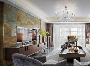 温馨现代简约公寓多彩客厅