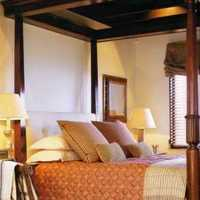 跃层北欧卧室家具双人装修效果图