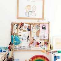 衣柜现代简约儿童房壁柜装修效果图