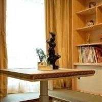 美式古典实木浴室柜装修效果图