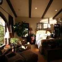 富裕型二居室简洁装修效果图