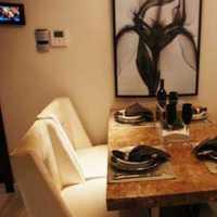 奢华灯具现代别墅餐厅装修效果图