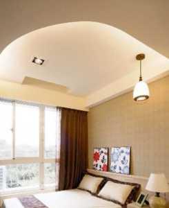腾龙别墅设计新中式卧室装修效果图