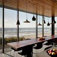 餐厅吧台混搭跃层装修效果图