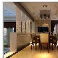 餐厅吊灯三居餐厅现代装修效果图