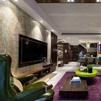 背景墙客厅三居室豪华型装修效果图