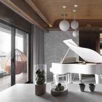 别墅设计面积360440平米2至3层含每层平面图总平面图剖