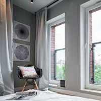 卧室卧室吊顶头灯双人装修效果图