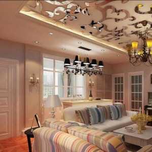 业之峰装饰_一个客厅,两个Ideas?银色吊顶or绿色空间?我要我的青春,我爱我的120m2小清新_1