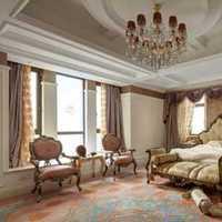 70平米两室一厅欧式卧室装修效果图