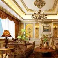 新古典別墅古典家具起居室裝修效果圖