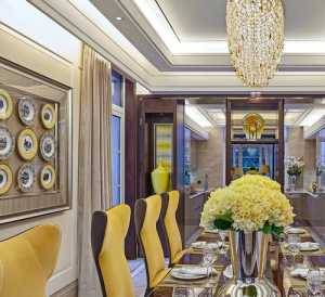美式別墅客廳影視墻裝修圖片