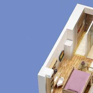 室内棚顶部装修效果图