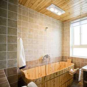 美式風格的衛生間設計