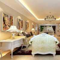 简洁客厅新古典样板房装修效果图