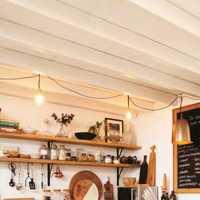 別墅廚房簡潔北歐裝修效果圖