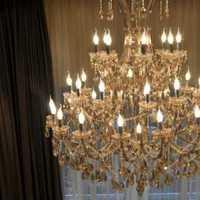 沙发灯具120平米三居室装修效果图