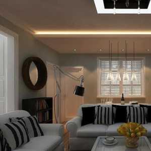 业之峰装饰_一个客厅,两个Ideas?银色吊顶or绿色空间?我要我的青春,我爱我的120m2小清新_2