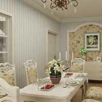 两室一厅现代二居装修效果图