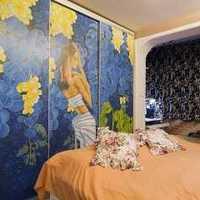 头柜富裕型三居室装修效果图