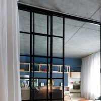 三居臥室頭背景墻飄窗裝修效果圖