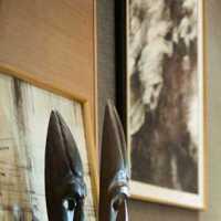 洛可可风格卧室装饰壁炉效果图