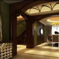 混搭美式复式楼120㎡客厅效果图