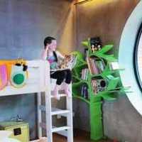 新古典别墅简单双层儿童房装修效果图