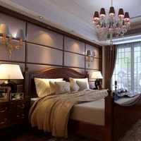 自然别墅欧式卧室颜色展示装修效果图