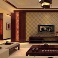 三居客厅客厅背景墙抱枕装修效果图