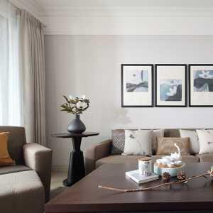 新中式雅致公寓多彩客厅