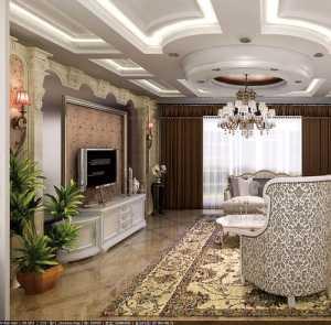 大气时尚 奢华欧式客厅