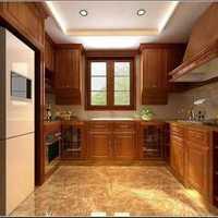 简约厨房隔断厨房吊顶厨房装修效果图