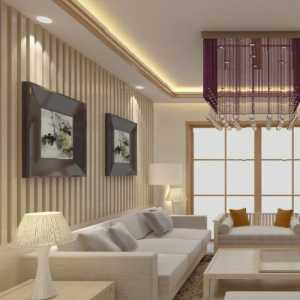 白色系时尚大气后现代风格客厅
