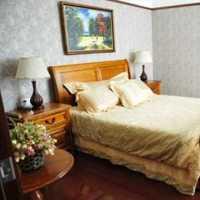 简约高端卧室遮阳窗帘布装修效果图