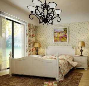 卧室串灯装饰