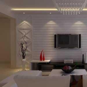简约风格二居室小清新90平米效果图
