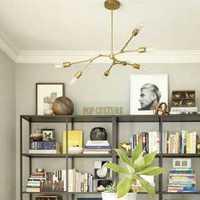 书柜书桌书柜书房组合书柜装修效果图