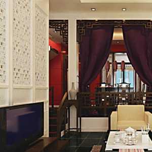 3中式客厅装修效果图