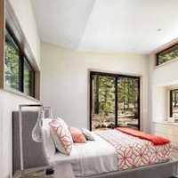 美式简装卧室飘窗装修效果图