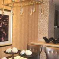 现代古现结合别墅起居室装修效果图