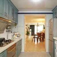 开放式厨房客厅装修效果图