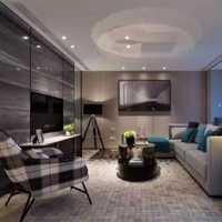 沙发美式窗帘二居室装修效果图